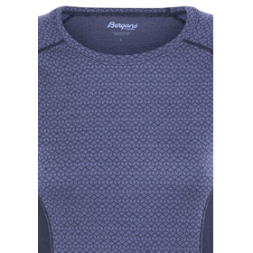 Bergans Snoull Shirt Lady Dusty Blue/Navy/Dusty Light Blue